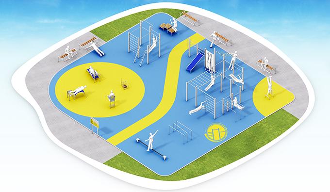 Calisthenics Park XXL